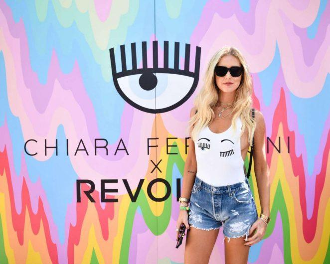 Chiara Ferragni - Blonde Salad x Revolve Pool Party in Palm Springs