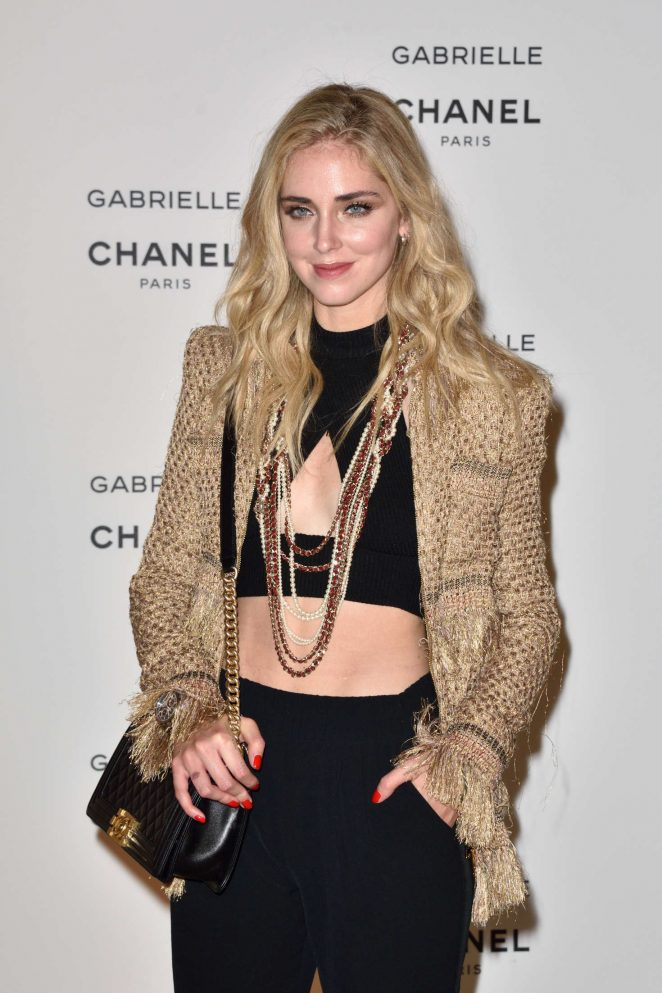 Chiara Ferragni - Chanel's new perfume 'Gabrielle' Launch Party in Paris