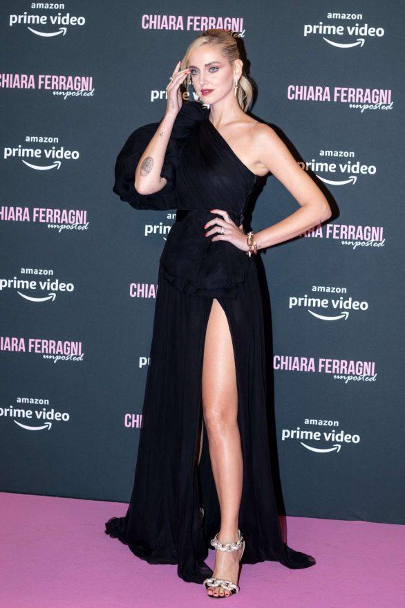 Chiara Ferragni - 'Chiara Ferragni - Unposted' Premiere in Rome