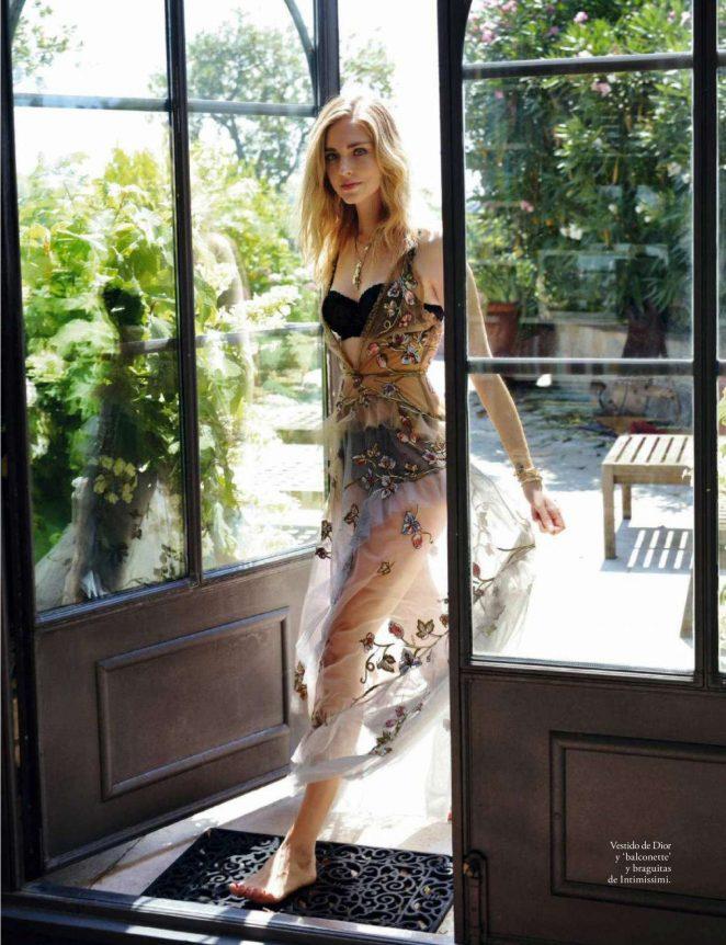 Chiara Ferragni for Elle Spain Magazine (October 2018)
