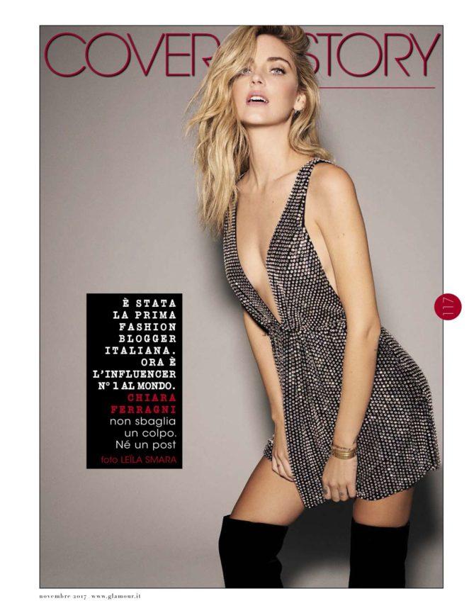 Chiara Ferragni - Glamour Magazine (November 2017)