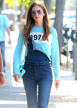 Chiara Ferragni in Jeans at Cecconi's in West Hollywood