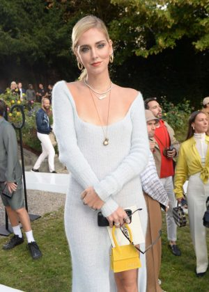 Chiara Ferragni - Jacquemus Fashion Show in Paris