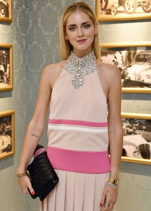 Chiara Ferragni - Miu Miu Dinner at Haute Couture Fashion Week in Paris