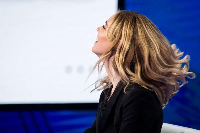 Chiara Ferragni on Italian television show Che Tempo Che Fa -09