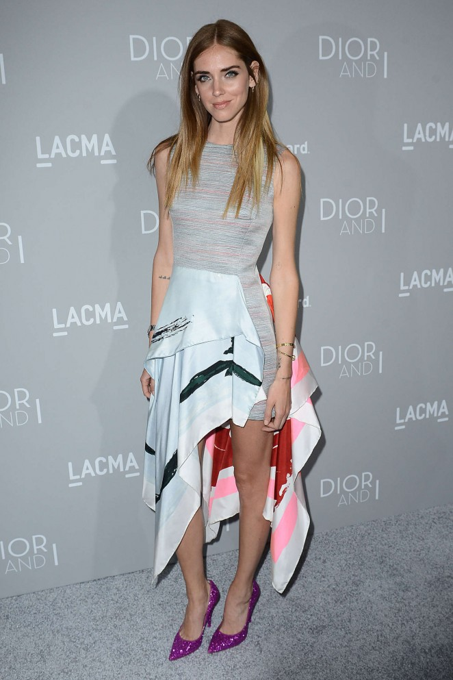 Chiara Ferragni - Orchard Premiere of Dior and I in Los Angeles