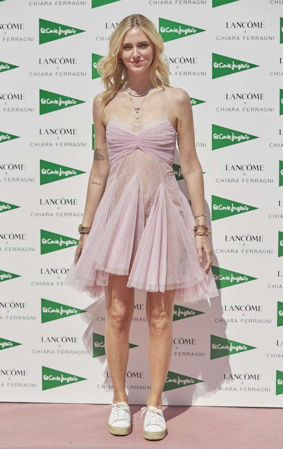 Chiara Ferragni - Promoting the Lancome x Chiara Ferragni Collection in Madrid