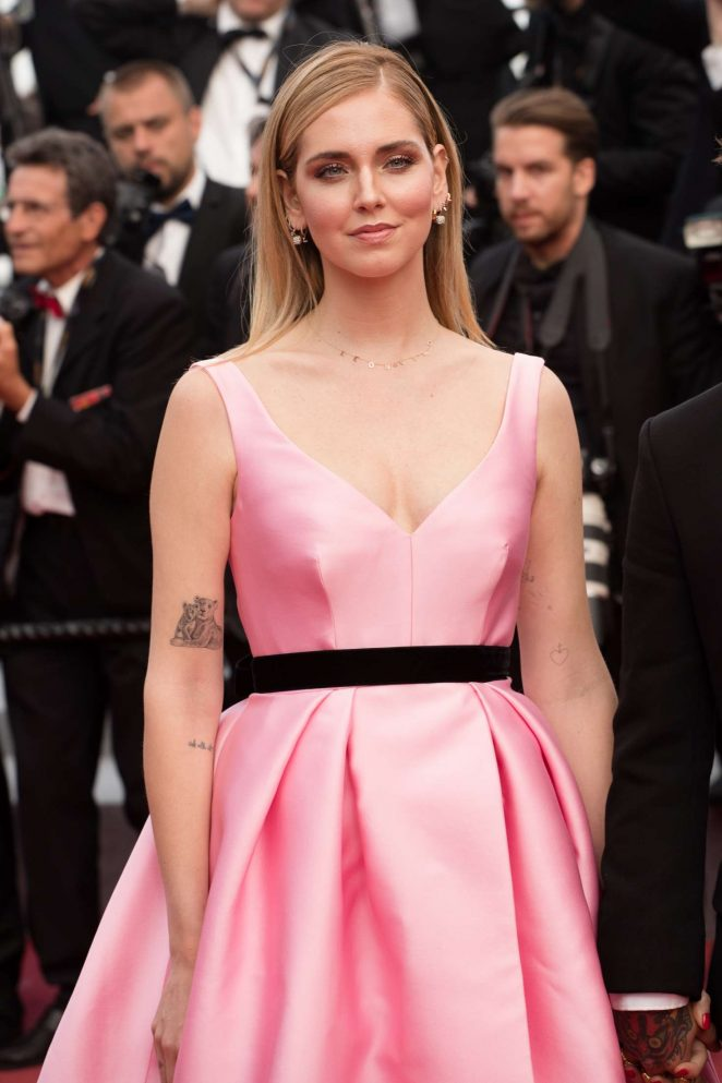 Chiara Ferragni - 'Sink or Swim' Premiere at 2018 Cannes Film Festival