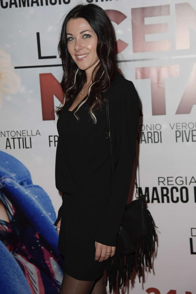 Chiara Tommasini - 'La Cena Di Natale' Premiere in Rome