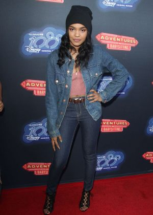 China Anne McClain - 'Adventures in Babysitting' Premiere in Los Angeles
