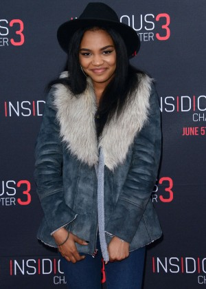 China Anne McClain - 'Insidious: Chapter 3' Premiere in Hollywood