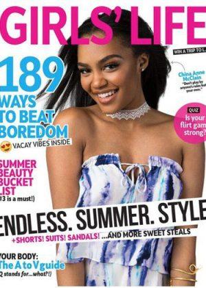 China McClain - Girls' Life Magazine (June/July 2017)