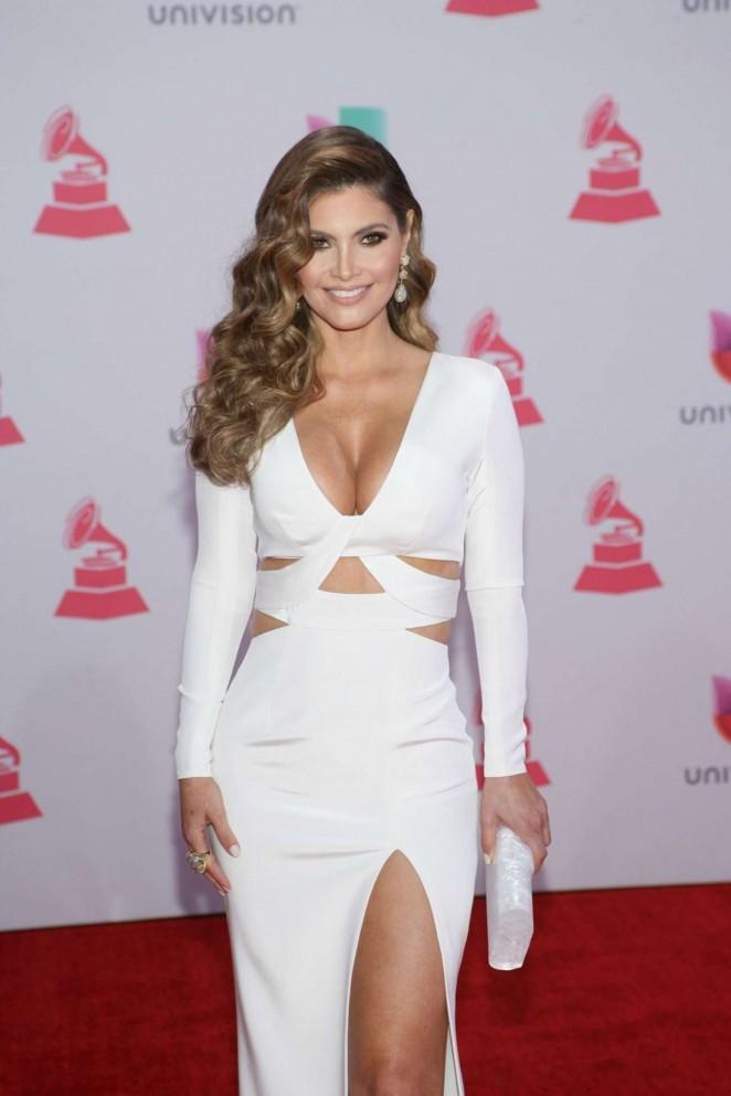 Chiquinquira Delgado - 2015 Latin Grammy Awards in Las Vegas