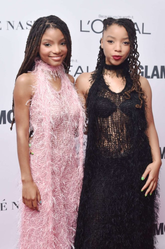 Chloe and Halle Bailey – 2017 Glamour Women of The Year Awards in NY