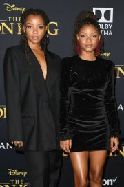 Chloe and Halle Bailey - 'The Lion King' Premiere in Hollywood
