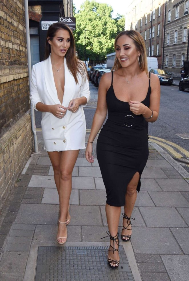 Chloe and Lauryn Goodman – Out in London