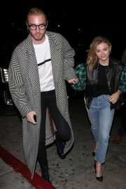 Chloe and Trevor Moretz - Arriving for a private 'Louis Vuitton' Dinner in West Hollywood