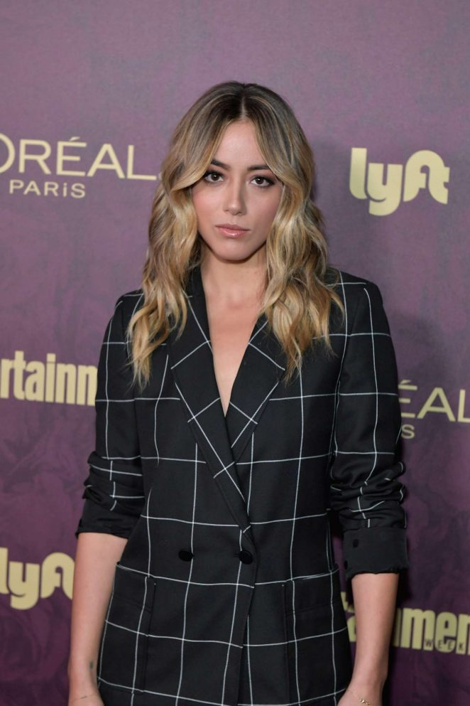 Chloe Bennet At Entertainment Weekly party at Comic-Con in