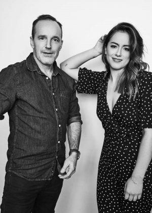 Chloe Bennet - 2018 Winter TCA Getty Images Portrait Studio in Pasadena