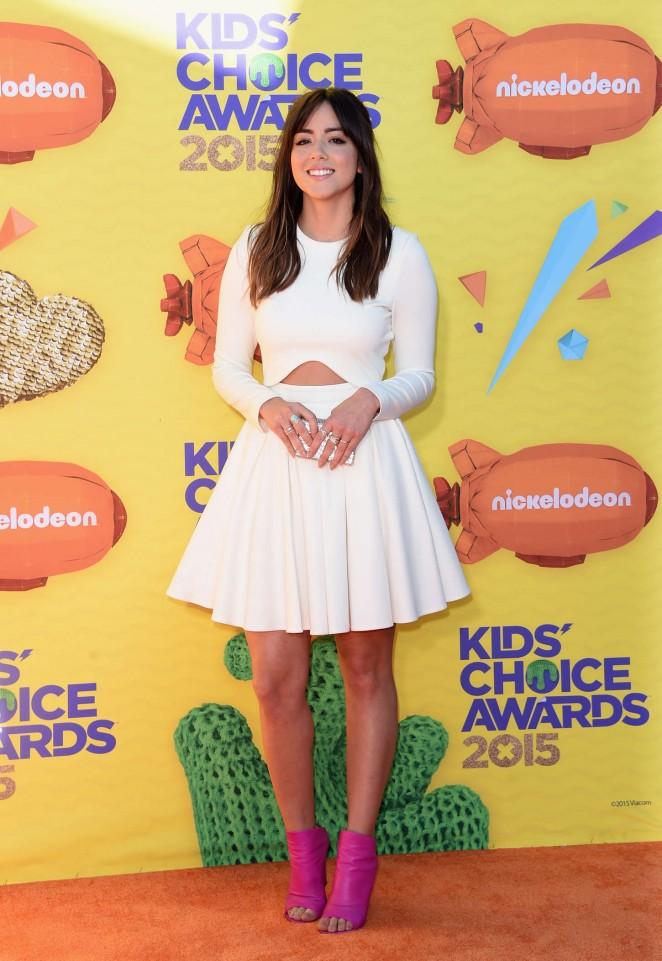 Chloe Bennet - Nickelodeon Kids Choice Awards 2015 in Inglewood