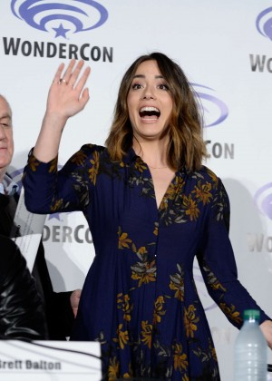 Chloe Bennet - Agents of S.H.I E.L.D Panel at WonderCon 2016 in Los Angeles
