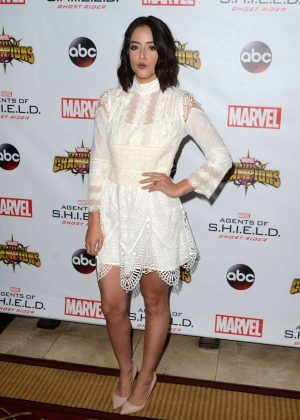 Chloe Bennet - 'Agents of S.H.I.E.L.D.' Season 4 Premiere in Los Angeles