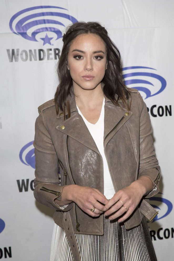 Chloe Bennet - 'Agents of Shield' Press Room at WonderCon in Anaheim