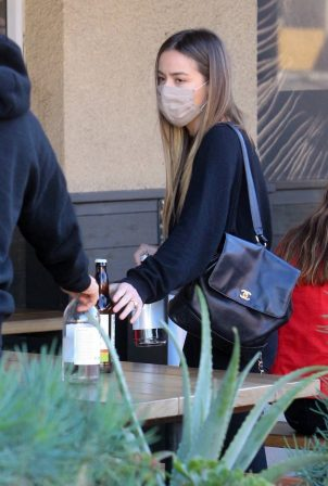 Chloe Bennet and Gregg Sulkin - Out for a lunch at Erewhon Market in LA