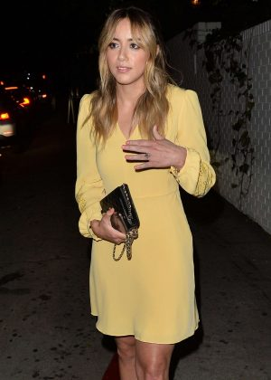 Chloe Bennet - Arrives at the Max Mara WIF Face Of The Future in LA