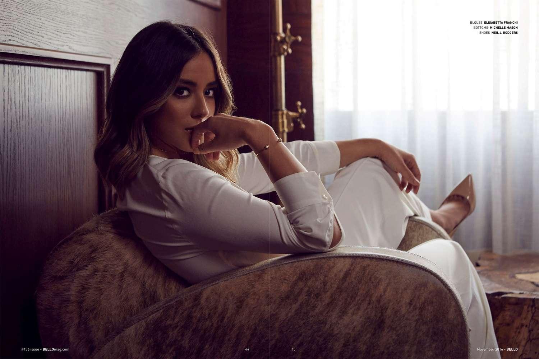 Chloe Bennet: Bello Magazine 2016 -08 - GotCeleb Rihanna Makeup