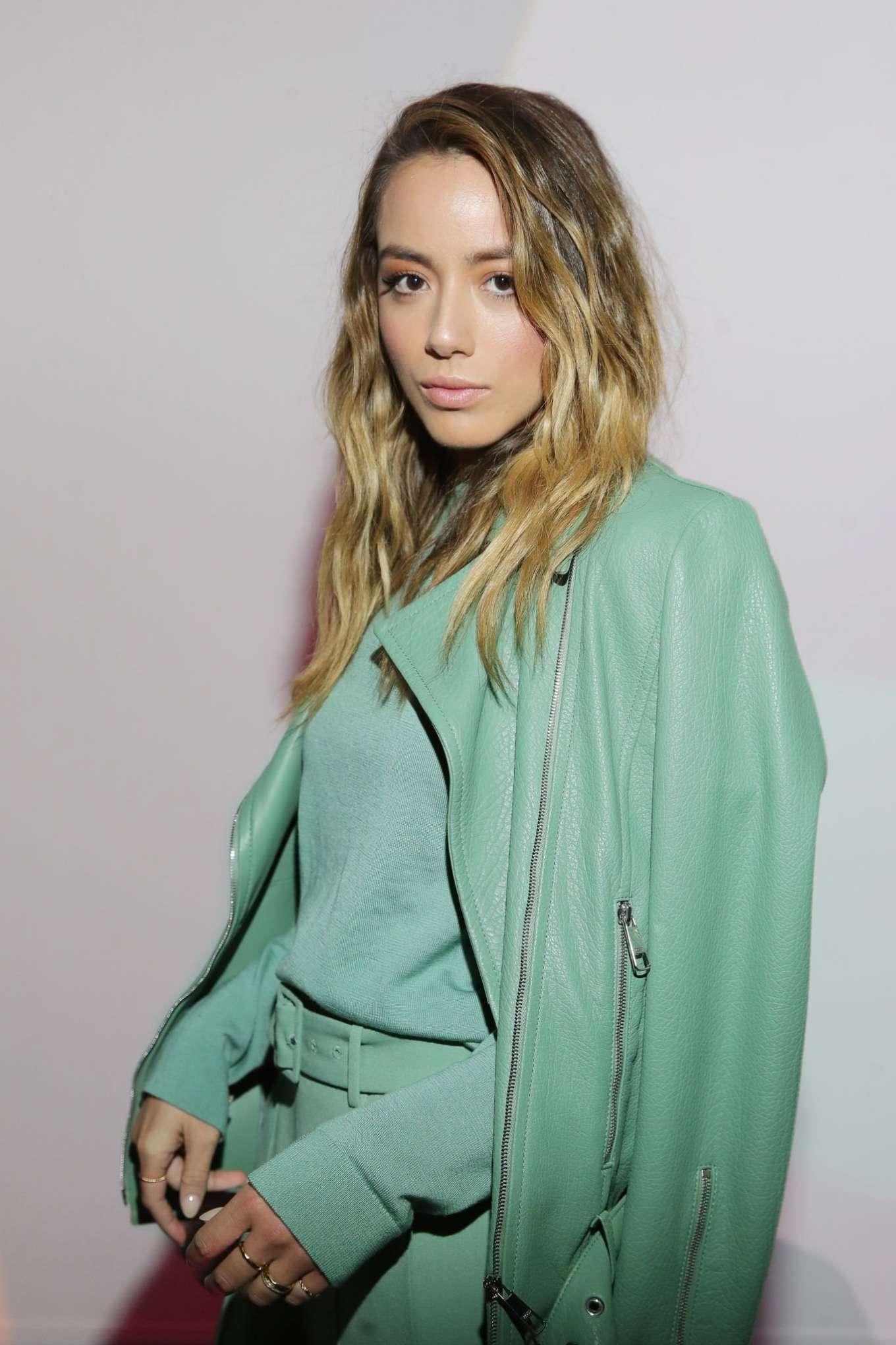 Chloe Bennet 2019 : Chloe Bennet – Boss Fashion Show in Milan-02