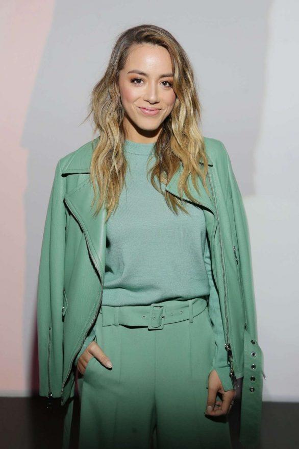 Chloe Bennet - Boss Fashion Show in Milan
