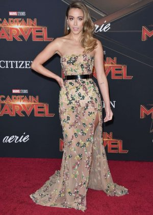 Chloe Bennet - 'Captain Marvel' Premiere in Los Angeles
