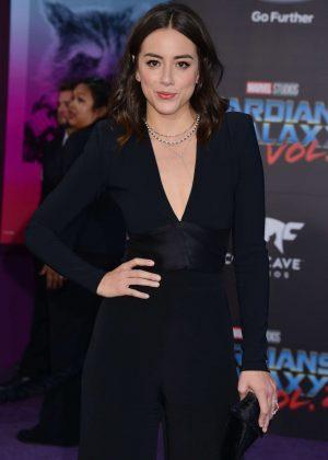 Chloe Bennet - 'Guardians of the Galaxy Vol. 2' Premierein LA