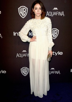 Chloe Bennet - InStyle and Warner Bros 2016 Golden Globe Awards Post-Party in Beverly Hills