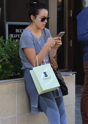 Chloe Bennet - Leaving Thibiant Beverly Hills Medical spa in LA