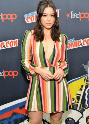 Chloe Bennet - 'Marvel's Agents of S.H.I.E.L.D.' panel during 2017 New York Comic Con