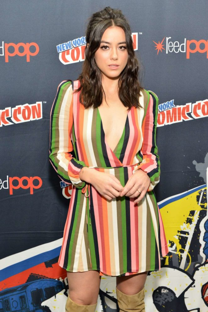 Chloe Bennet – 'Marvel's Agents of S.H.I.E.L.D.' panel during 2017 New York Comic Con