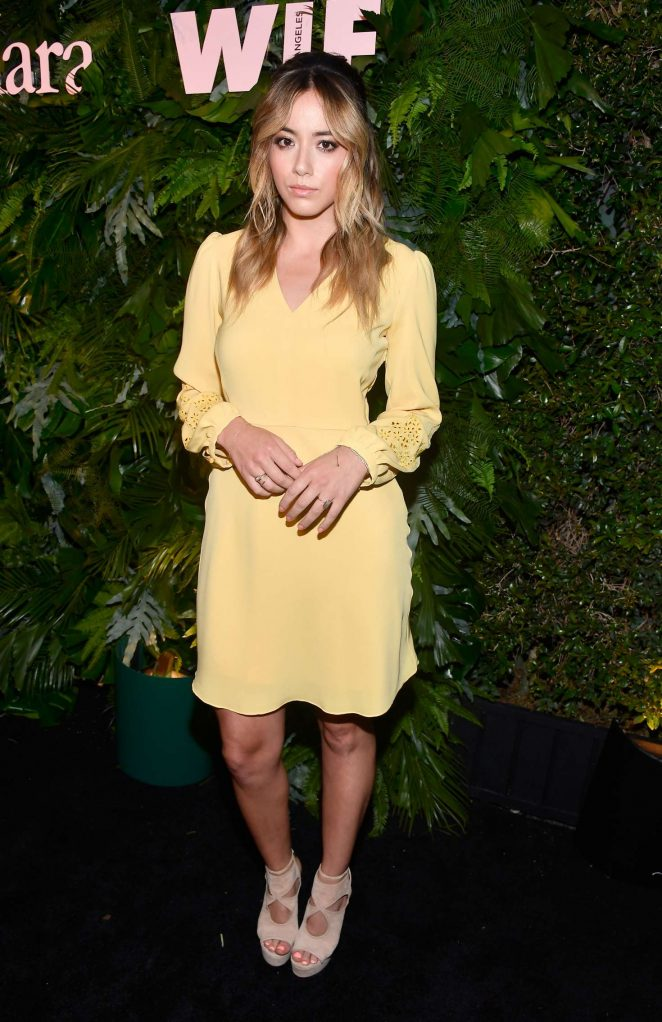 Chloe Bennet - Max Mara WIF Face Of The Future in Los Angeles