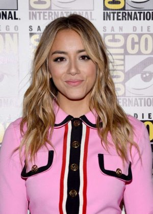 Chloe Bennet - SiriusXM Broadcasting Live From Comic-Con in San Diego