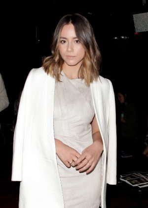 Chloe Bennet - Wolk Morais Collection 3 Fashion Show in Los Angeles