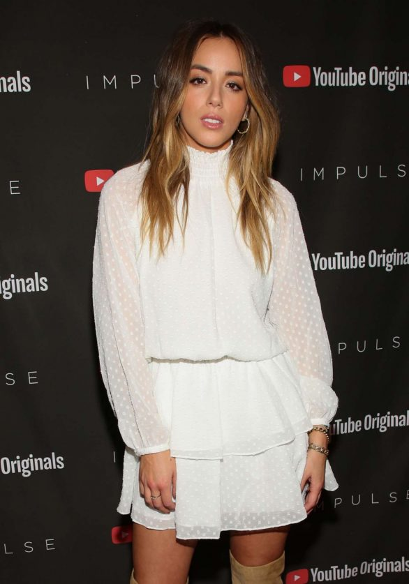Chloe Bennet - 'Impulse' Season 2 Special Screening in West Hollywood