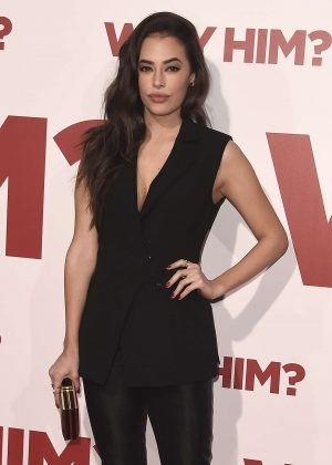 Chloe Bridges - 'Why Him' Premiere in Los Angeles