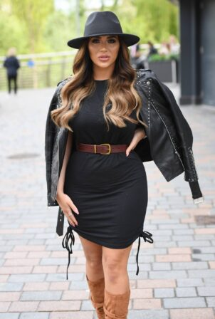 Chloe Brockett - The Only Way is Essex TV Show filming in Chelmsford
