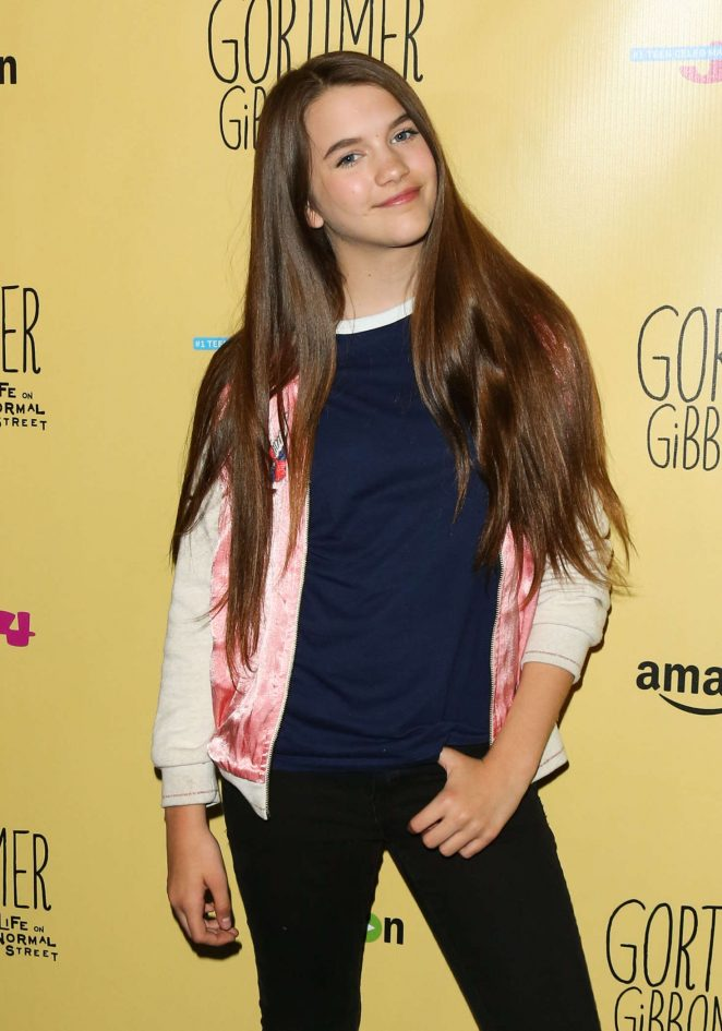 Chloe East - 'Gortimer Gibbon's Life on Normal Street' Premiere in Burbank
