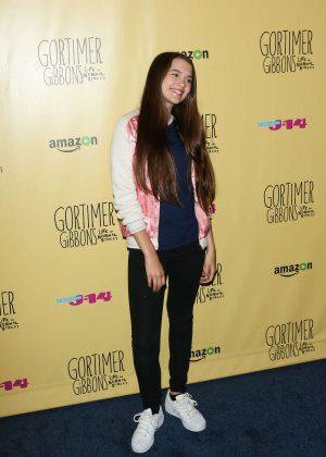 Chloe East: Gortimer Gibbons Life on Normal Street Premiere -04