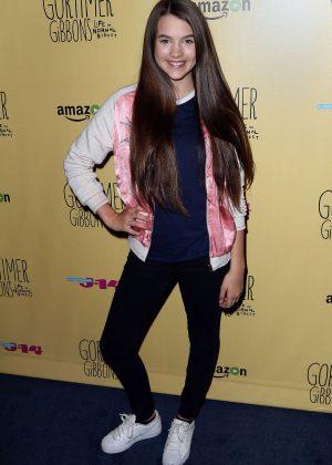 Chloe East: Gortimer Gibbons Life on Normal Street Premiere -06