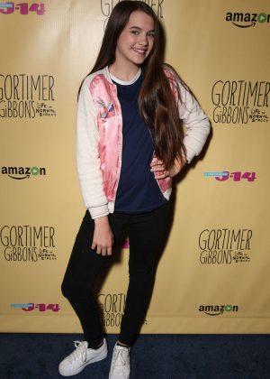 Chloe East: Gortimer Gibbons Life on Normal Street Premiere -08