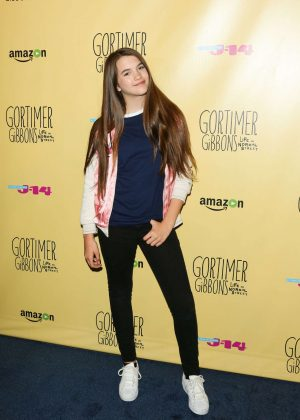 Chloe East: Gortimer Gibbons Life on Normal Street Premiere -11