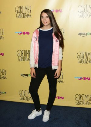 Chloe East: Gortimer Gibbons Life on Normal Street Premiere -13